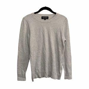 Banana Republic Gray Cashmere Sweater